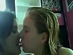 Homemade Teen Lesbian Kissing Compilation