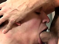 Old and young gay lovers go for kinky BDSM play