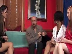 Big tit ebony masseuse tug therapy