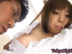 Anmi Hasegawa Asian model in sex action