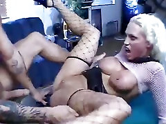 Nikki Hunter gags on cock in throat then gets fucked