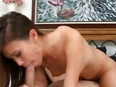Isis Lee lusty asian babe do a hard mouth job