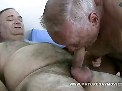 Fat Daddy Get Fucked By Chubby Mature Friend