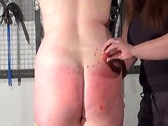 Amateur lezdom and dominatrice torture of bbw slave slut