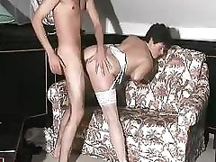Mature brunette in sexy underwear wouldn't mind to be used extensively