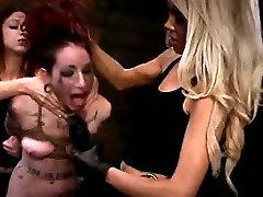 Isa Mendez Still in her BDSM Strapon