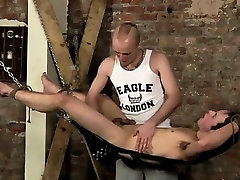 Gay guys Face Fucked With A Cummy Cock