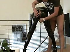 Blonde Whore Creampied In The Ass