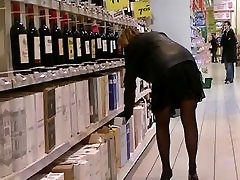 mia stockings and see through in public