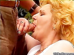Mature Wife Puts Her Mouth To Use For Good