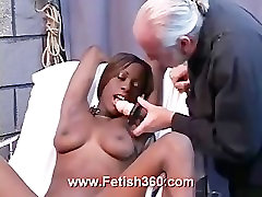 Crystal the hot ebony sex slave