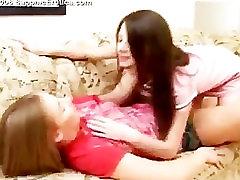 Three lesbian Teenagers going crazy