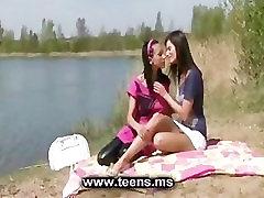 Lesbian teens