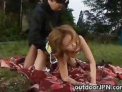Kane Hotaru Asian model enjoys outdoor part5