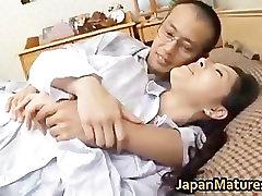 Ayane Asakura Mature Asian lady has sex part2