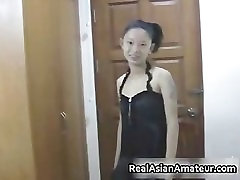 Small perky tits asian sucking cock part3
