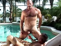 Playful HAIRY Bears in Paradise