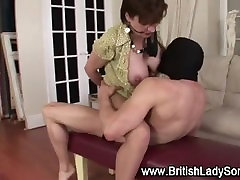 Hardcore session with mature lady