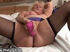 BBW blonde housewife fucking part5