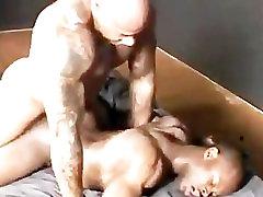 Black Muscle Bareback