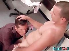 Hardcore cock sucking and fucking part1