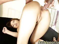Cute Young Asian Sucking and gets fucked part4