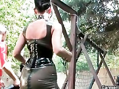 Sexy Carmen in hard-core bdsm action part6