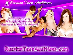 Two Young Russia Student fucked hard by lucky guy