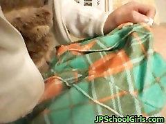 Ami Hinata sweet Asian schoolgirl enjoys part4