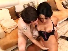Ebony babe take anal ride