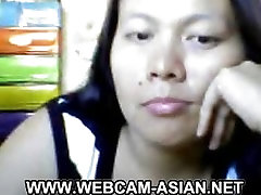 busty filipina mature mom playing with her nipples on webcam