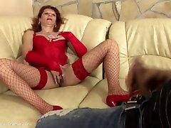 Creampie mature Adriane 44