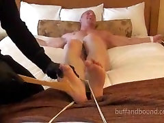 Muscle Hunk Bound and Tickled - Kyle Stevens