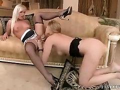 Lesbian Maid Tongues Her Mistress
