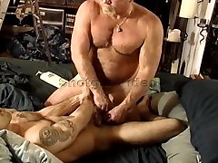 CBT young muscle hunk ball squeezing.