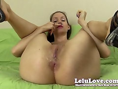 Lelu Love-Spit Smelling Asshole Booty Shaking