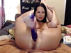 Flexible girl - fack hitachi in pussy