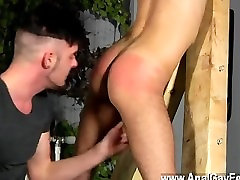 Hot gay sex Adam Watson loves nothing more than having a super-hot arse
