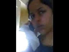 INDIAN - desi girl talking on call and bf doing masti