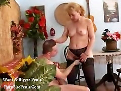 Italian Blonde Mature With Young Man free porn
