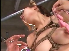 Suspended japanese slavegirl in asian bdsm and sexual domination