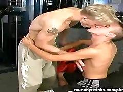 Ethan and Liams gym fuck