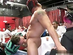 Hot twinks asshole licking
