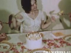 Vintage Porn early 1970s Happy Fuckday
