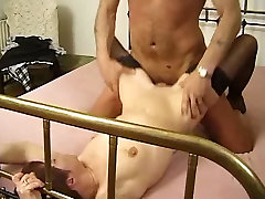 Little Titted Mature Milf in Stockings Fucks