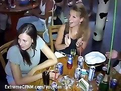 Drunken Milfs and Teen in sex party