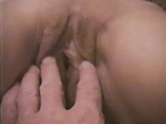 Teasing a much-loved older pussy, wide open and close-up, from Holland 4 amateur