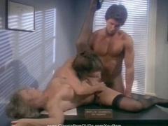 Classic Marilyn Chambers Threesome