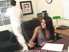 Donny Long fucks whore Shy Love at work