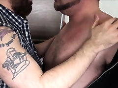 Superchub bear cockriding mature bearded dick